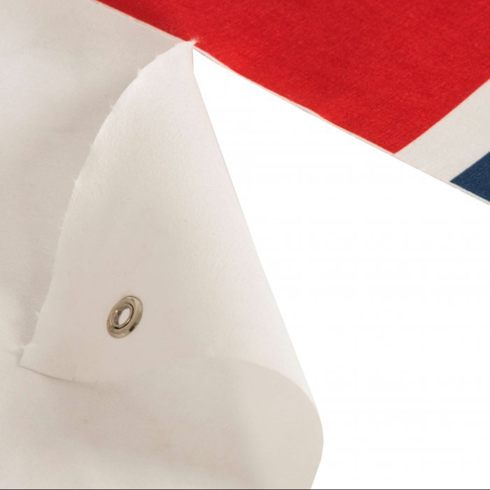 5. Baner reklamowy - włóknina - zbliżenie
