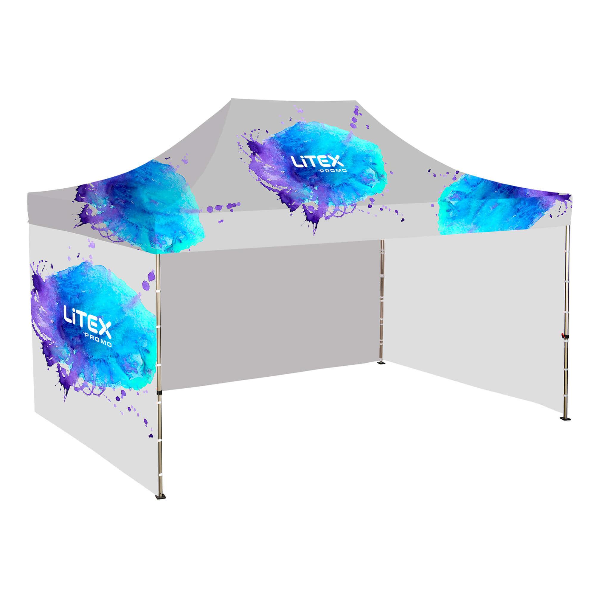 2. Namiot Szybkorozkładalny 3 x 4,5 m - ze ścianami