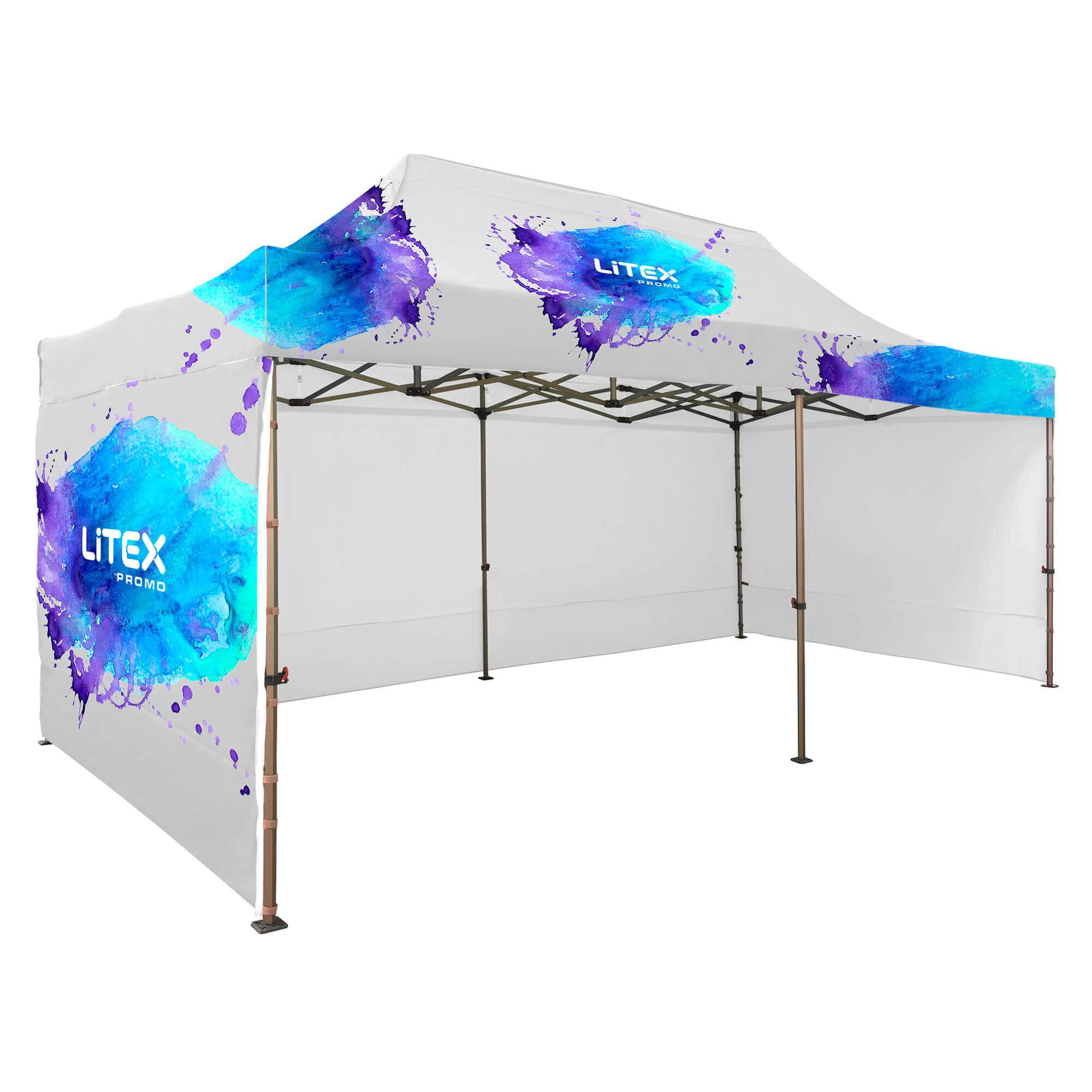 1. Namiot Szybkorozkładalny 3 x 6 m - ze ścianami