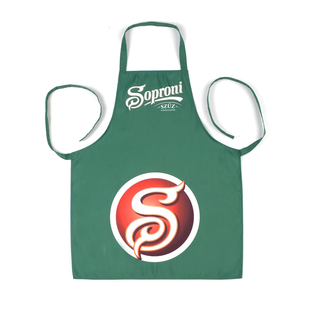 1. Promotional aprons with logo