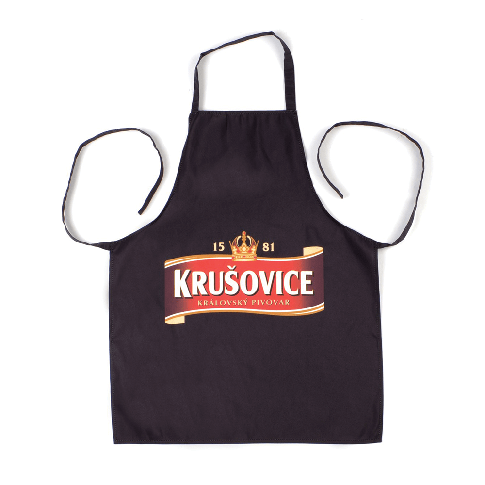 2. Branded aprons - Krusovice