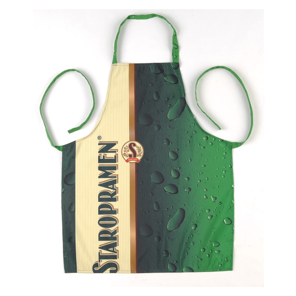3. Branded apron with logo