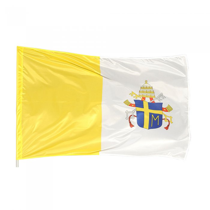 6. Vatican city Flag