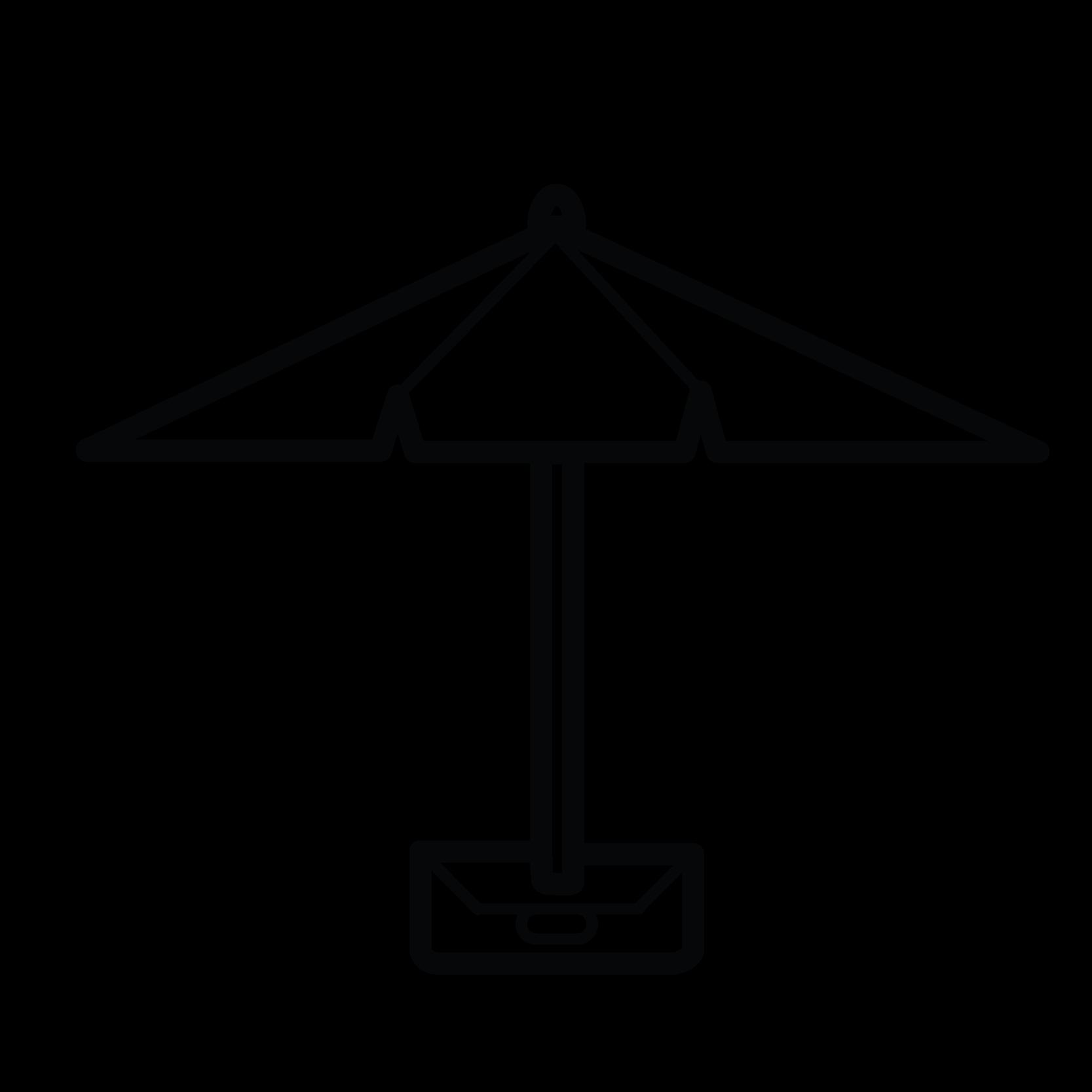 Parasol Beach Parasols - Ikona