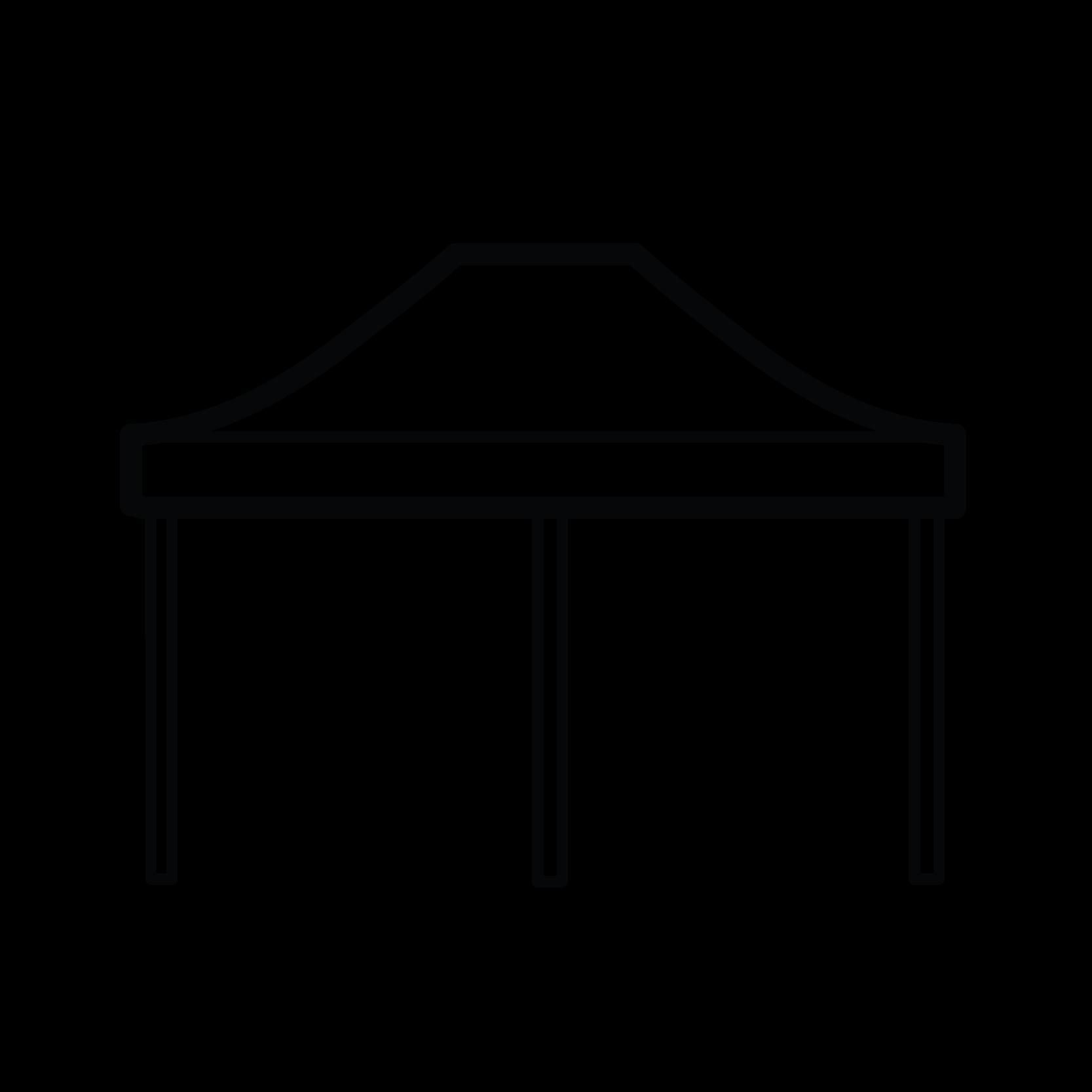 Namiot szybkorozkładalny 3x6m - Ikona