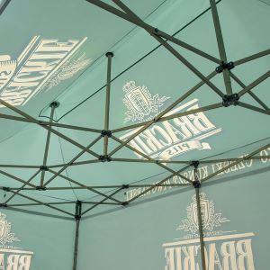 jak zaprojektować namiot handlowy