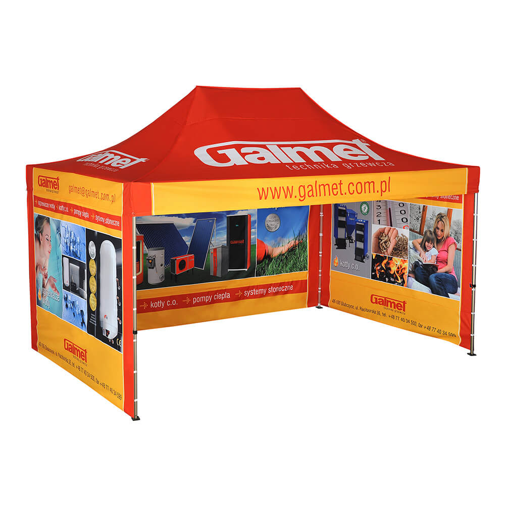 Advertising Tent 3x4 5m Branded Tents Litex Promo
