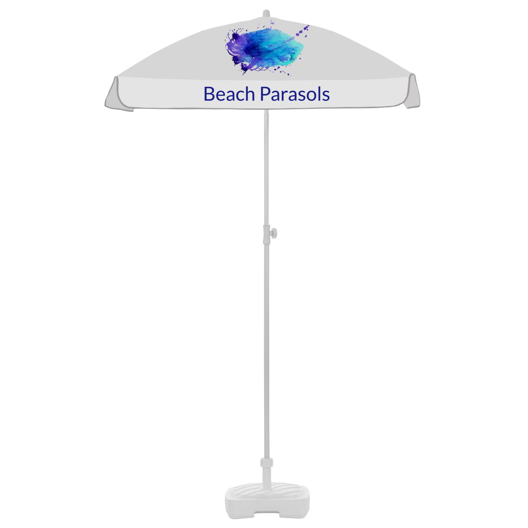 6. Beach Parasols Square 1,25m with fairing