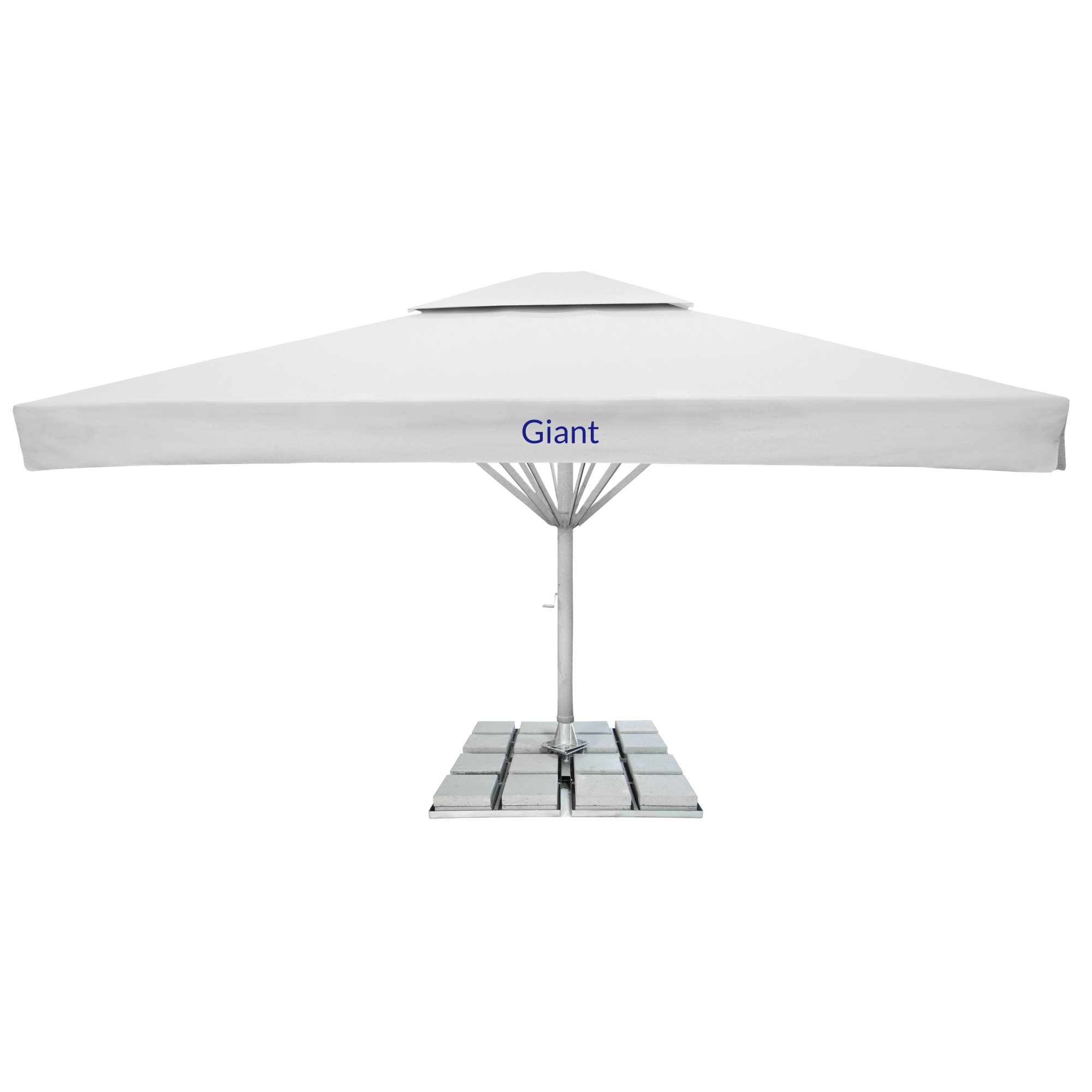 4. Giant Parasol Square 6m - with fairing and 2nd roof