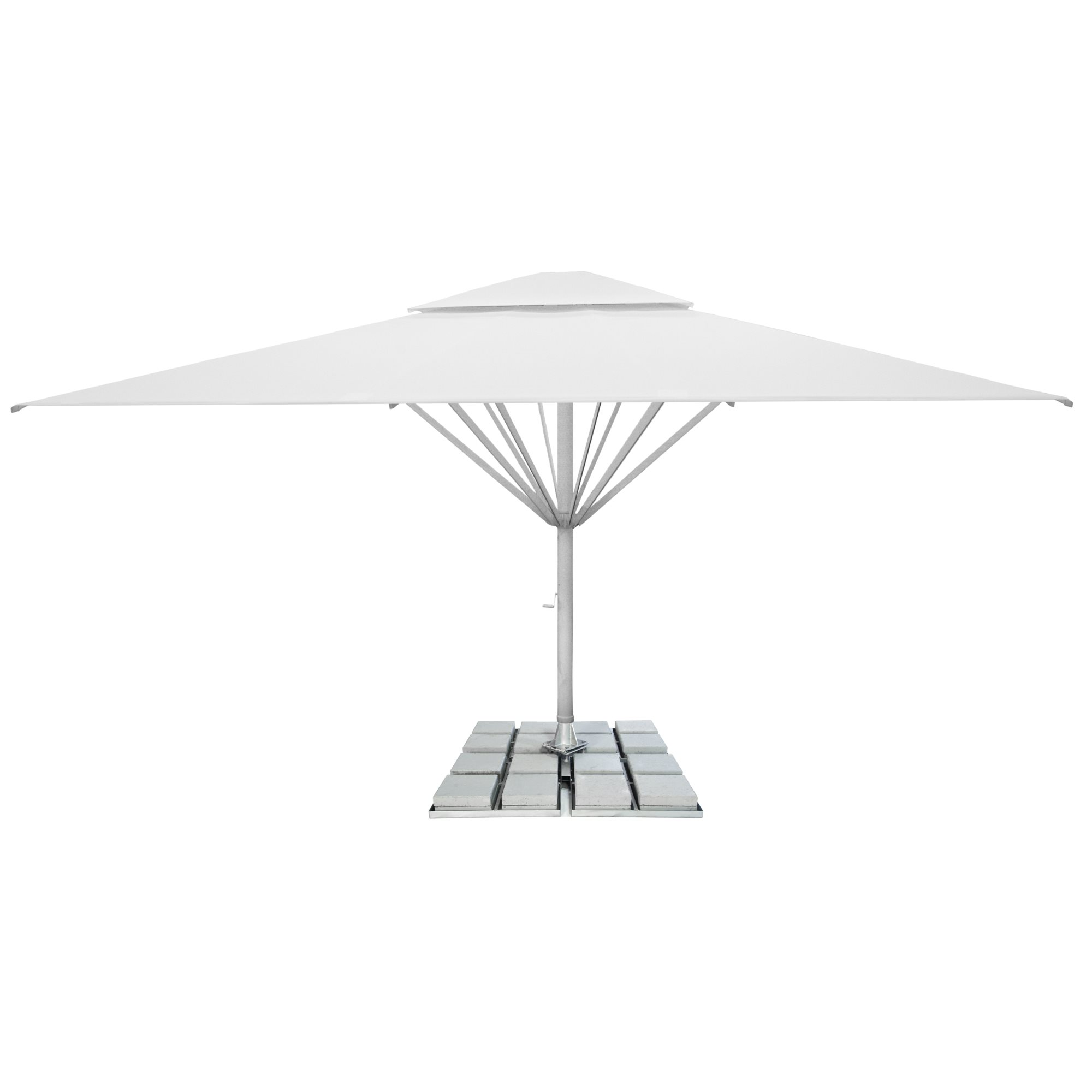 3. Giant Parasol Square 6m - with 2nd roof