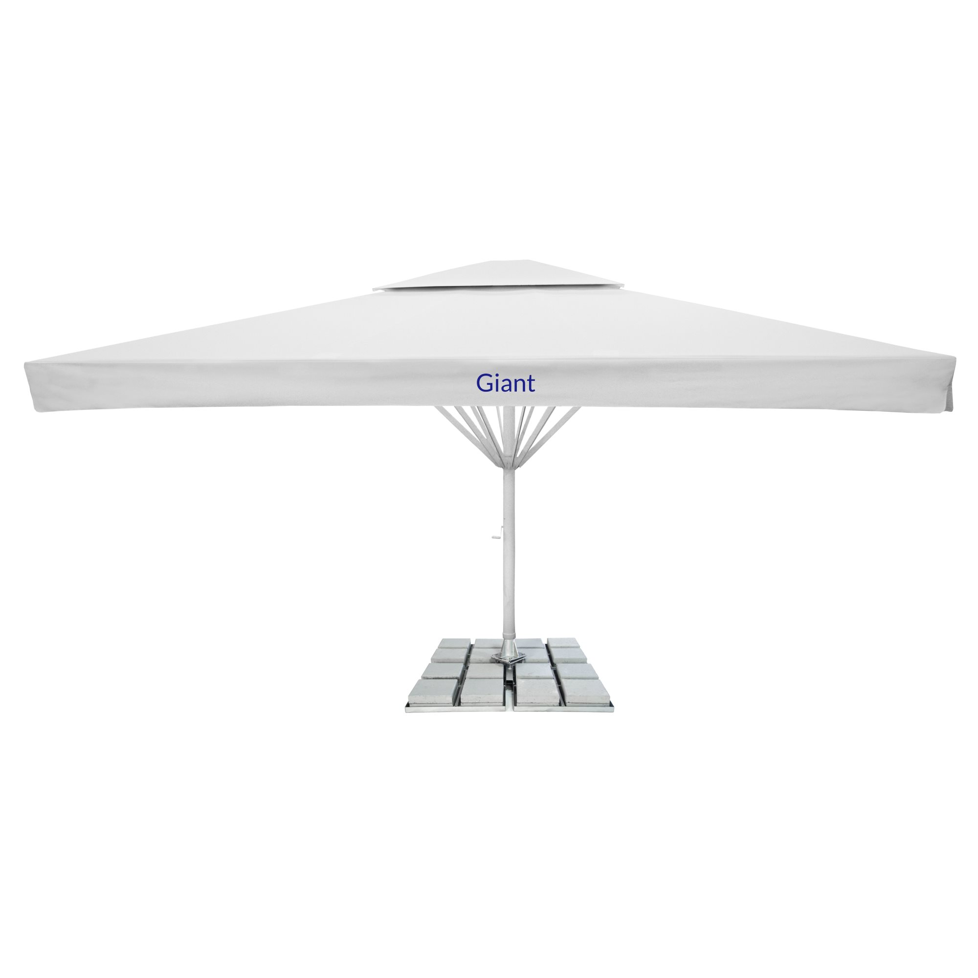 6. Giant Parasol Square 7m - with fairing and 2nd roof