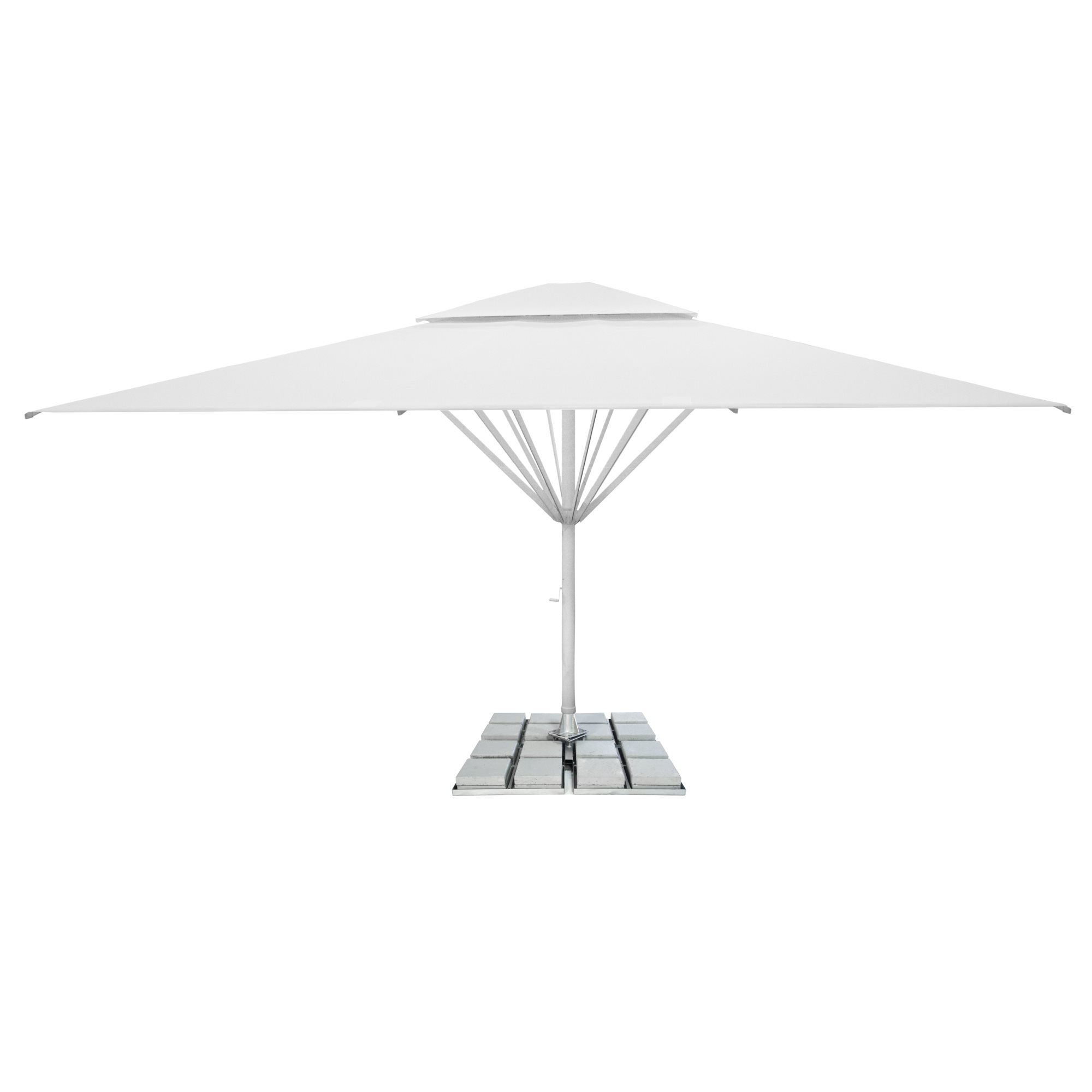 5. Giant Parasol Square 7m - with 2nd roof