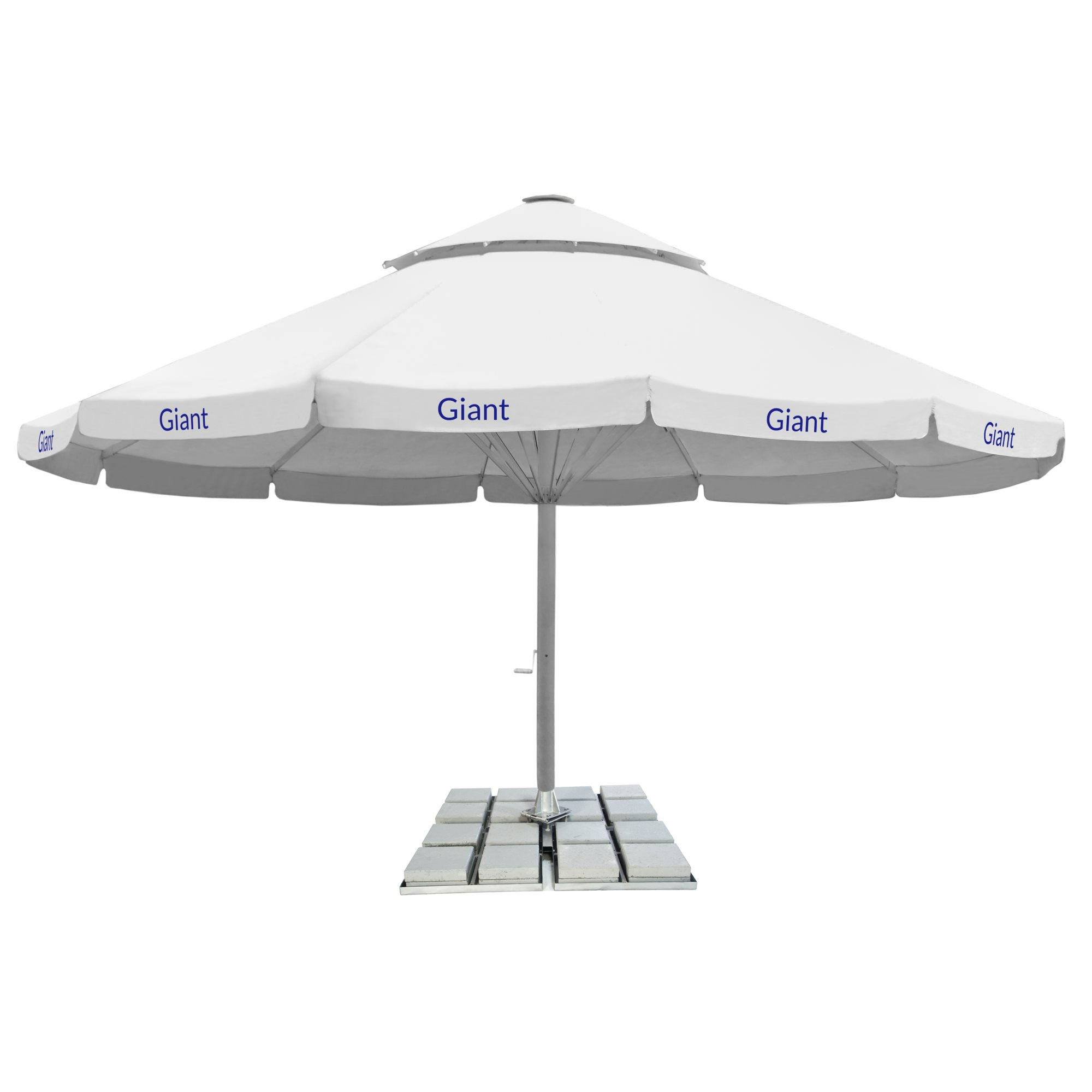 2. Giant Parasol 12-sided 8m - with fairing and 2nd roof