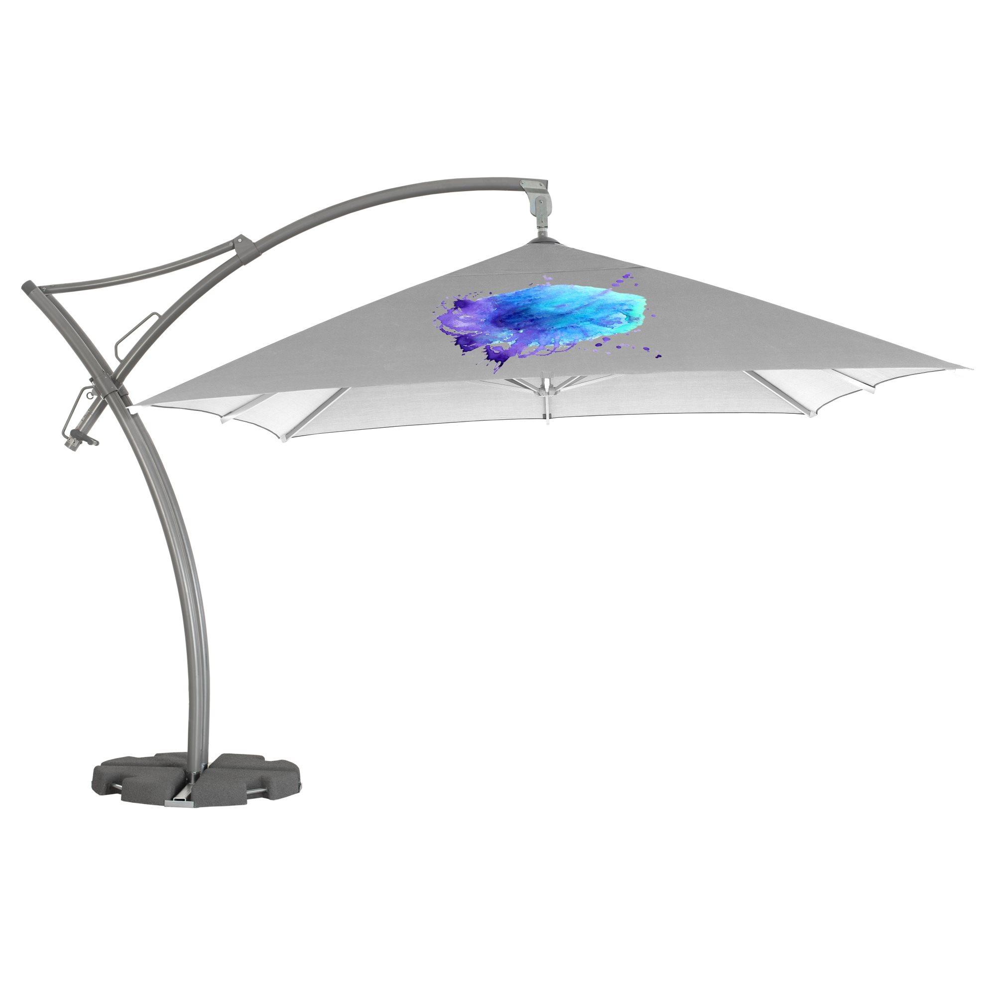3. Ibiza Parasol Quadratisch 3,5 m
