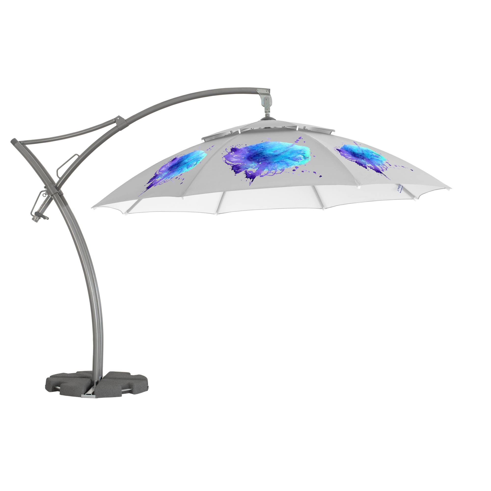 1. Ibiza Parasol Achteckig 3,5 m
