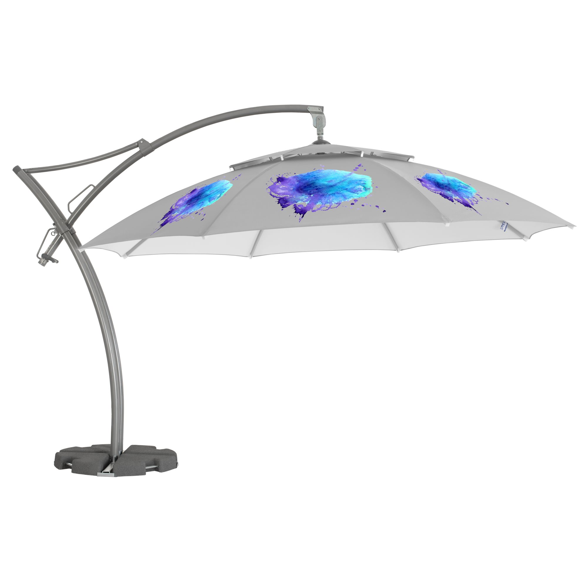 2. Ibiza Parasol Achteckig 4,2m