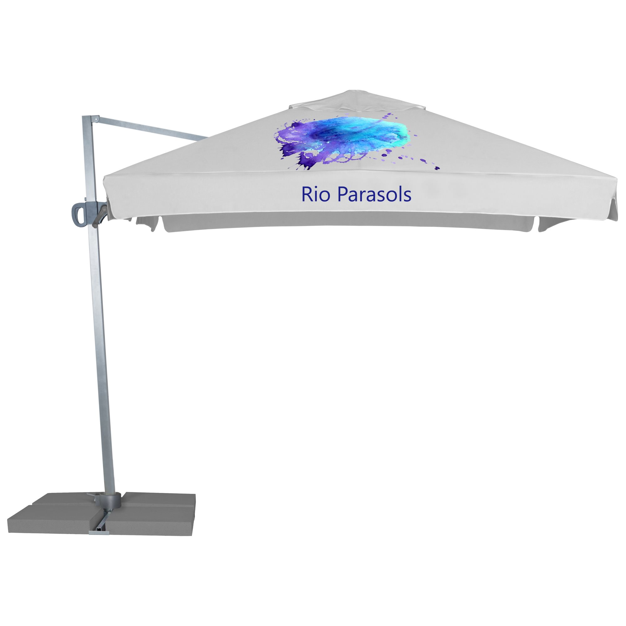 2. Rio Parasols Square 3 m - with fairing