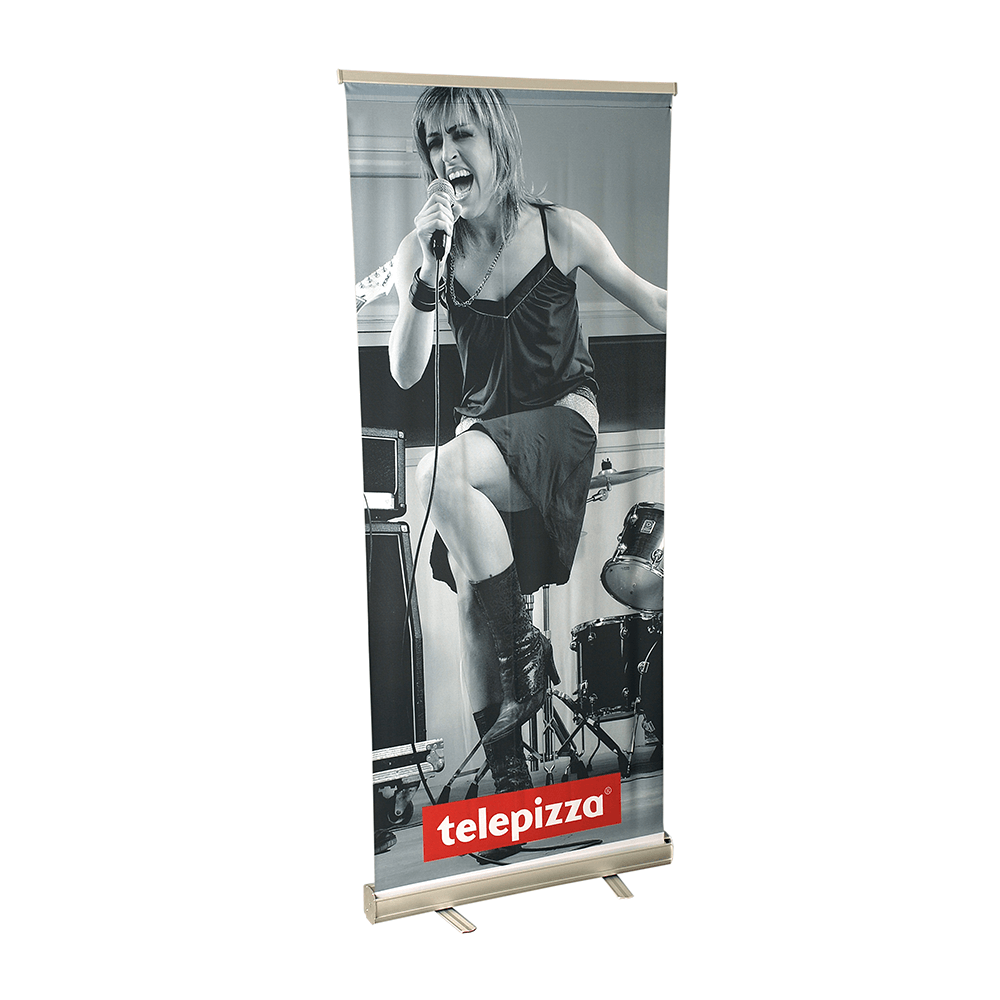 2. Rollup 80 x 200 cm - knitted fabric flag 130g