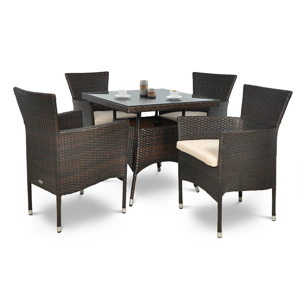 1. Synthetic rattan furniture