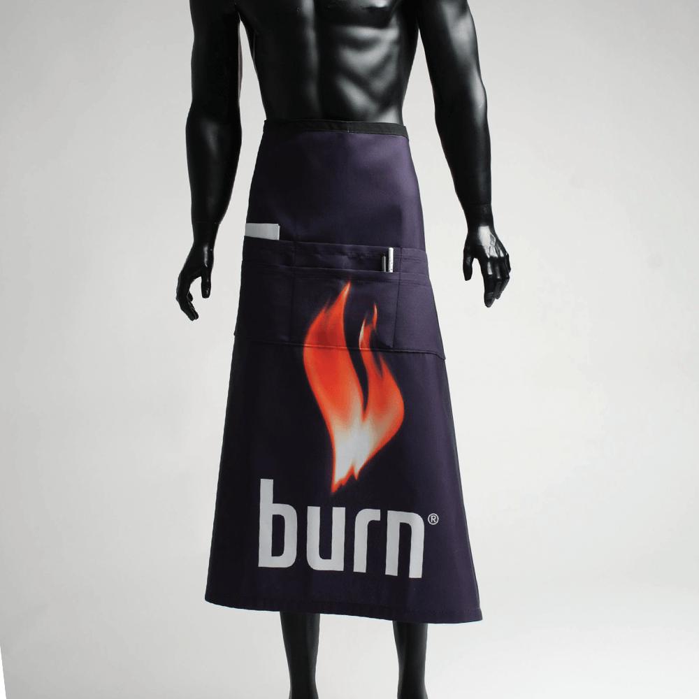 3. Bartender Apron Burn