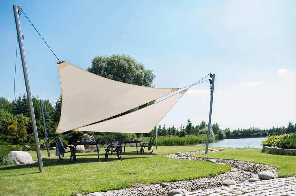 2. Sun shade sail Triangle