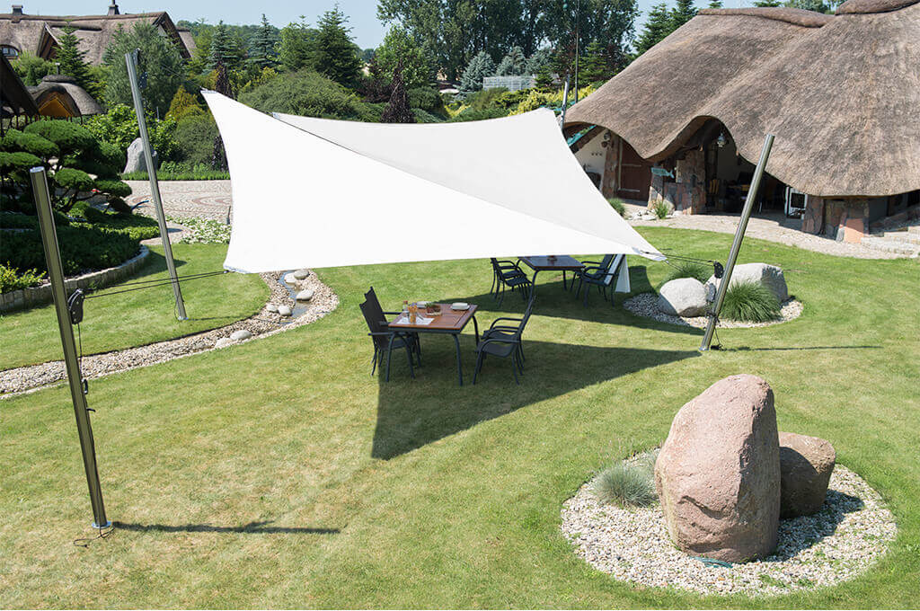 3. Patio Sail awning Triangle