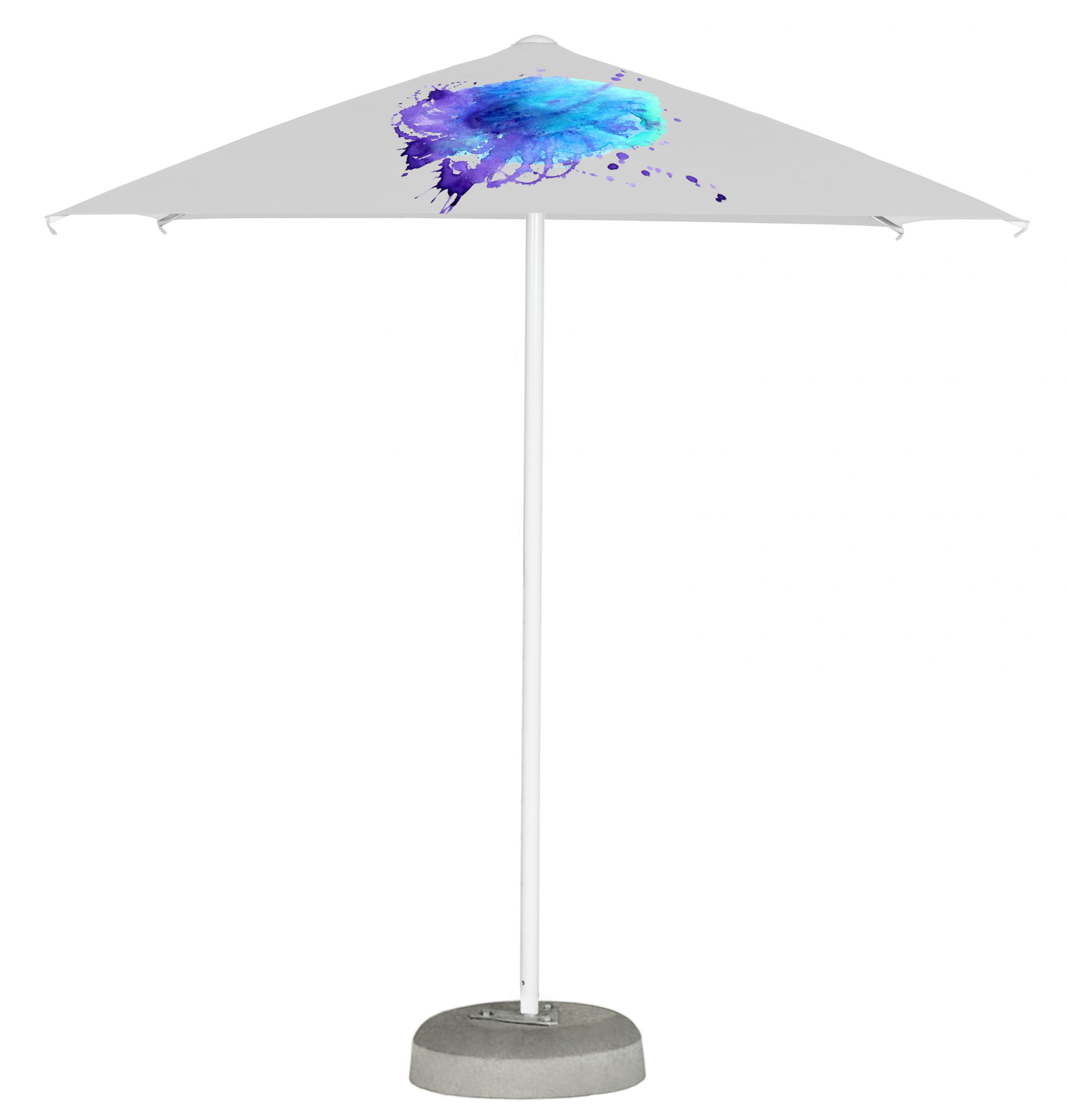 21. Easy Up Parasol Square 2 m