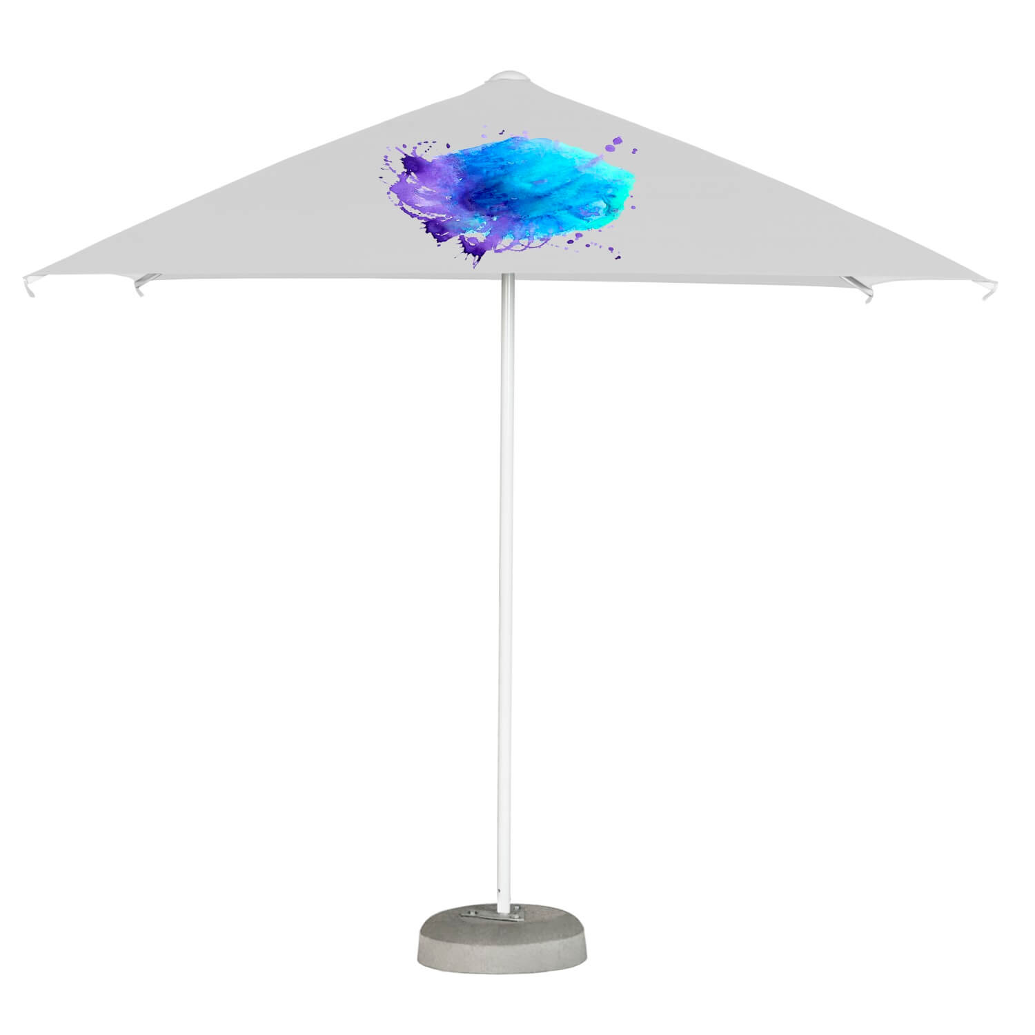 13. Easy Up Parasol Quadratisch 2,5m