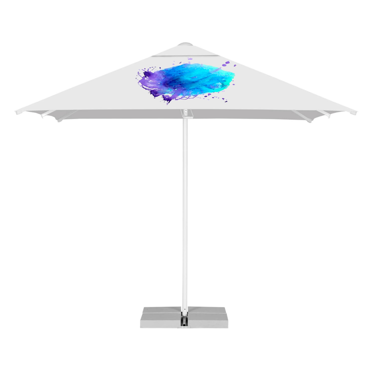 17. Easy Up Parasol Quadratisch 3m
