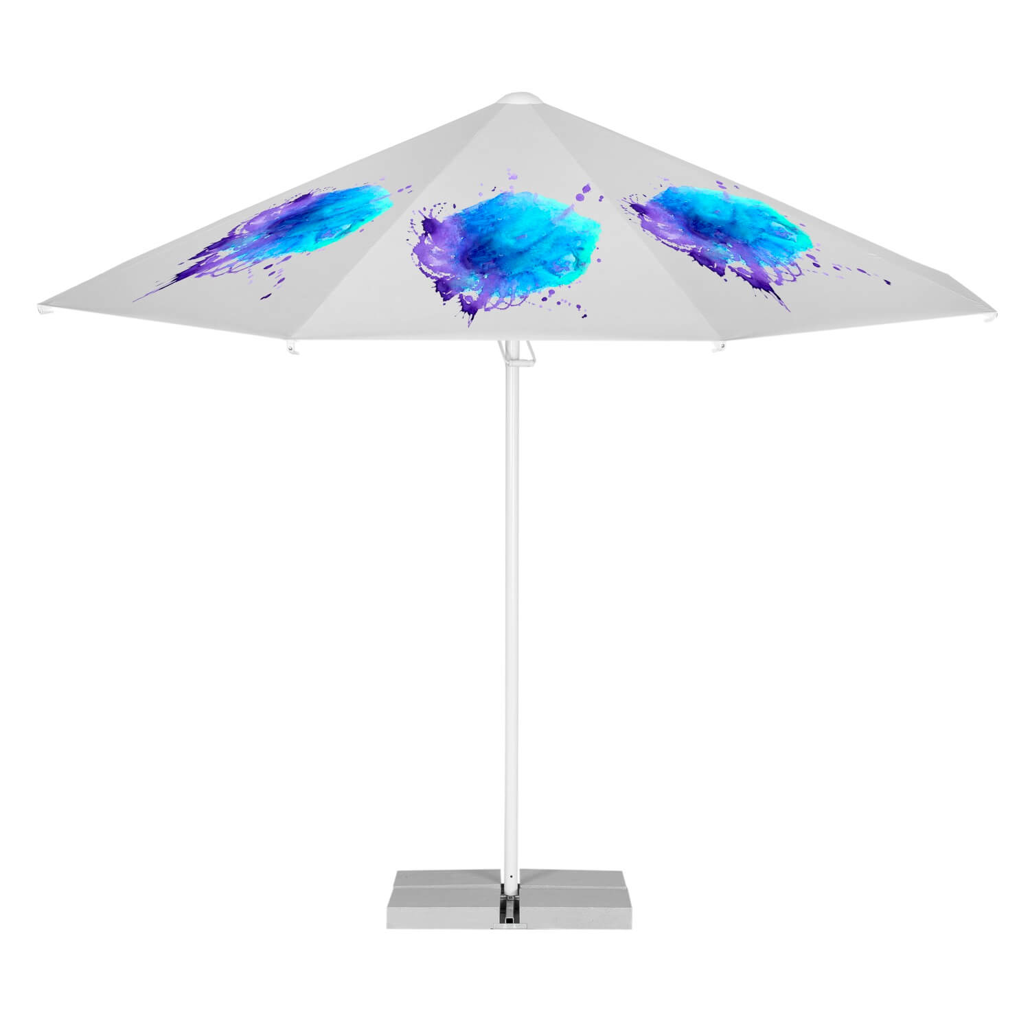 1. Easy Up Parasol Achteckig 3m