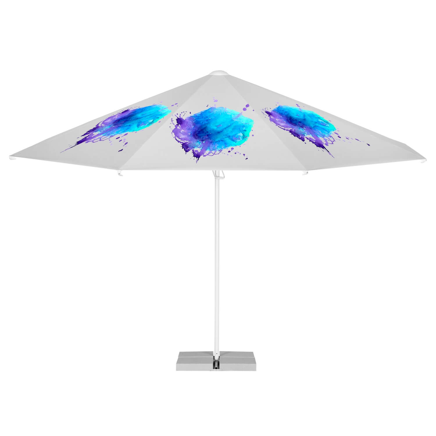9. Easy Up Parasol Octagonal 4 m