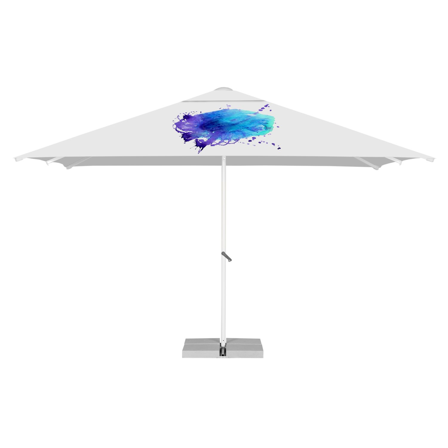 13. Strong Square Parasol 4m