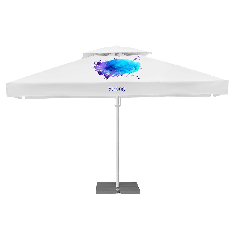 16. Funkcjonalne parasole reklamowe Strong