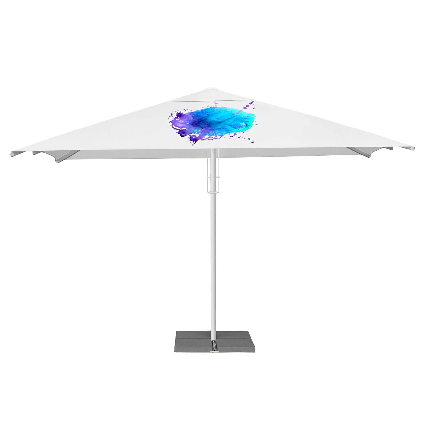 17. Strong Square Parasol 5m