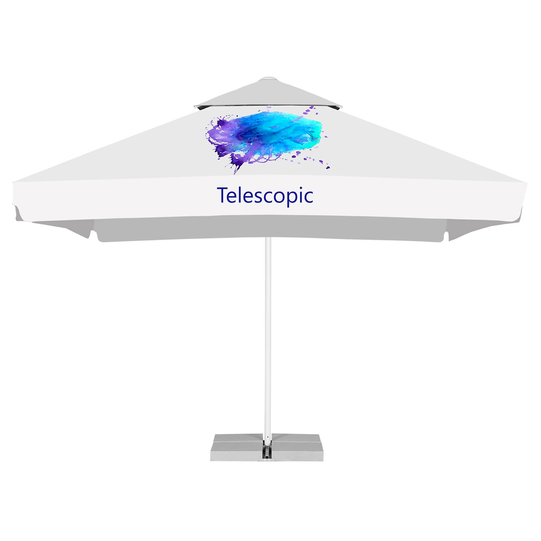 12. Sonnenschirmständer Telescopic