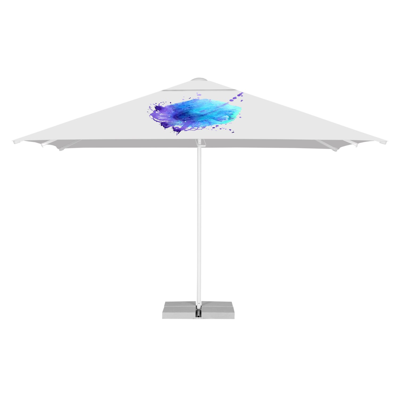 3. Rechteckige Schirme 3 x 4 m