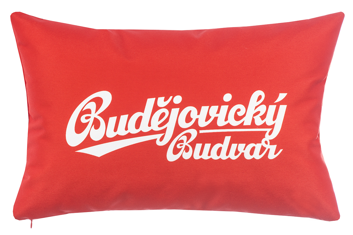 1. Decorative cushions with logo