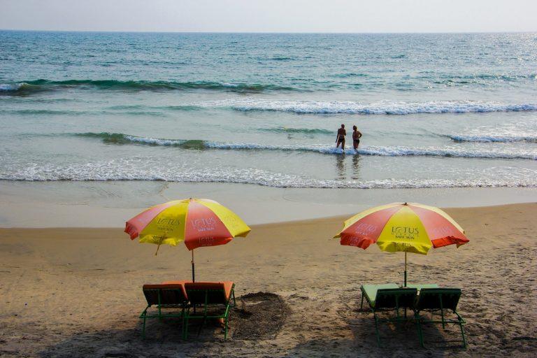 ads on the beach